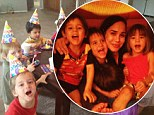 That is a whole lot of cake! Octomum Nadya Suleman's octuplets turn four