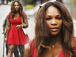 Who needs the champion's ball? Serena Williams gets over Australian Open loss by going on shopping spree