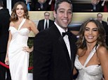 Counseling is obviously working! Sofia Vergara and fiance Nick Loeb put on a show of togetherness at SAG Awards