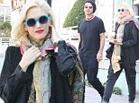 Gavin Rossdale and Gwen Stefani look distant on Starbucks run as Courtney Love claims Gavin controls her career