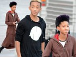Un-Belieber-ble! Willow and Jaden Smith look excited as they attend Justin Bieber concert
