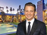 Have $25million? Then consider buying Jeremy Renner's remodelled Holmby Hills estate he fondly calls 'The Reserve'