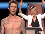 'Take your shirt off, Adam!' Shirtless Adam Levine gets acting tips from Cameron Diaz and Jerry Seinfeld during his first solo hosting gig on Saturday Night Live