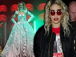 Rita Ora leaves first night of tour showing bizarre sunglasses after wowing on stage in flamboyant designer creations