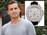 Talk about a clock watcher! Scott Disick reveals he spends HALF AN HOUR choosing which watch to wear every day