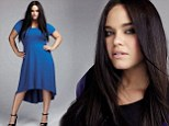 Now Kim Kardashian's sister-in-law kashes in! Kaela Humphries lands modelling deal with plus-size brand Evans