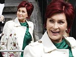 'My face looked plastic!' Sharon Osbourne is fresh-faced as she films segment for The Talk after abandoning plastic surgery