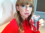 She loves a sip: Taylor Swift spoke about her deep feelings for Diet Coke as she announced her sponsorship deal