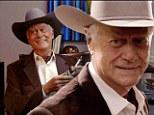 A bittersweet return: Larry Hagman returns as J.R Ewing for the final time as Dallas season two premieres