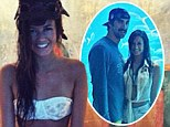 Plenty more fish in the sea! Michael Phelps recovers from love split by taking new waitress girlfriend to aquarium