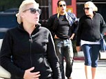 Healthy mumma: Busy Phillips and her growing baby bump hit the gym