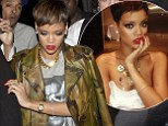 The pixie crop is back! Rihanna returns to her short locks as she teases fans with a sexy picture from her new shoot