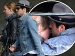 A dish best served hot! Revenge couple Emily VanCamp and Josh Bowman snuggle up together on brunch date