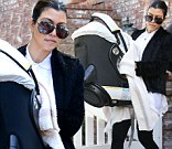 Kourtney Kardashian is out and about with daughter Penelope in Los Angeles on Monday