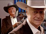 A bittersweet return: Larry Hagman returns as J.R Ewing for the final time as Dallas season two premieres