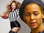 Make-up free Beyonce shows the strain of being a working mom... but is transformed in Super Bowl promo