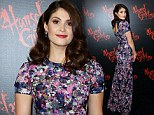 Pretty as a picture: Gemma Arterton looked lovely at the premiere of Hansel and Gretel 3D in Sydney