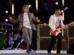 The Who bring the Closing Ceremony to an end