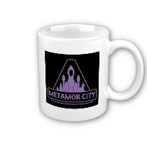 Metamor City Logo Mug
