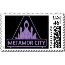 Metamor City Postage postage