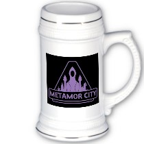 Metamor Stout Ale stein mugs