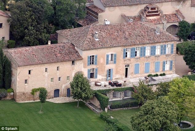 Wedding bells? All eyes have been on Brangelina's French home amid speculation they are to wed this month