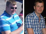 Honey, I shrunk myself! Morbidly obese groom, 23, loses more than the weight of his 8st bride for their wedding day