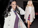 Mollie King and Rochelle Humes