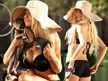 Bow wow! Courtney Stodden wears bikini to take Dourtney the dog on a walk