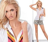 Supermodel Erin Heatherton is earning more than her Victoria's Secret Angel wings a she poses for Hugs and Kisses XOXO