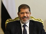 Dangerous mindset: A senior figure close to Egyptian President Mohammed Morsi (pictured) provoked outrage after claiming the Holocaust was a myth invented by the United States