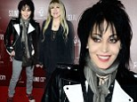 Rock chick rumble! Joan Jett and Stevie Nicks battle it out on the red carpet at Sound City premiere