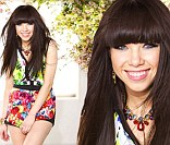 Carly Rae Jepsen shines on the cover of Seventeen's March issue