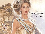 A family affair? Live Nation leaks poster for Beyonce's 2013 world tour dubbed 'The Mrs. Carter Show'
