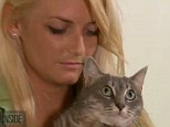 Tortured? Alanna Jenkins' cat Chompers was violently abused by her former flatmate, Jordan Scott Bean, according to the police. The pet owner took video footage she secretly took of Bean to the police station