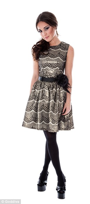 Louise has channeled her own style into the collection of party perfect dresses