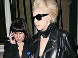 Legal battle: Gaga's rant came in came in defence of a 2011 lawsuit by Jennifer O¿Neill (pictured, left, with the singer), who claims she is owed for 7,168 hours of overtime