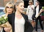 The apple doesn't fall far from the tree! Ali Larter and her youthful mother make for a chic duo as they enjoy a day of shopping