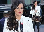 She loves those boots! Khloe Kardashian wears Givenchy boots -- again -- as she finishes up whirlwind tour of New York City