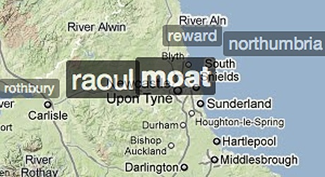Raoul Moat on Trendsmap