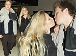 A pair of Pratts! Heidi and Spencer return to the US after Celebrity Big Brother adventure