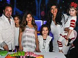 Big brood: The reality stars are already parents to four daughters but are said to be keen on having a son