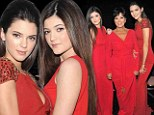 Supermodels in the making! Kendall and Kylie Jenner take the fashion world by storm as they join mother Kris on catwalk at Red Dress Show