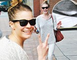 Leann Rimes is all smiles while out in Beverly Hills
