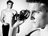 First photos! Alexander Ludwig shows off six-pack abs... for risky new movie role