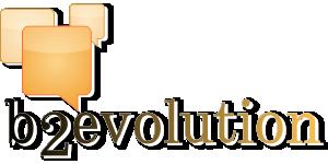 b2evolution logo png
