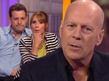 'It was torture!' Viewers blast 'ignorant and incoherent mumbling moron' Bruce Willis after excruciatingly awkward One Show interview