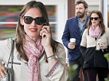 So that's how she does it! Jennifer Garner fits in 'me' time at beauty salon after spending breakfast with the family