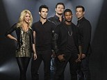 Bring it on! The Voice Usher's in season four with new promo photo featuring a sizzling Shakira
