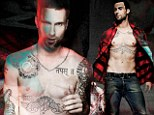 Icons Issue of 7 Hollywood Magazine with Adam Levine